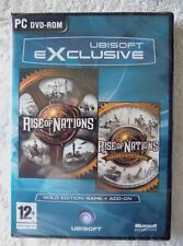 36663 - Rise Of Nations / Rise Of Nations Thrones And Patriots Gold Edition [NEW