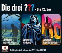 DIE DREI ??? - 042/3ER BOX (FOLGEN 126,127,128)  3 CD NEU