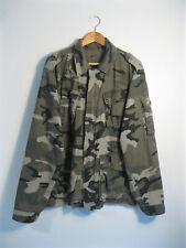 QUICKSILVER | Men's Cotton Camouflage CAMO Military Shirt Jacket Shacket | L