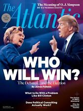 THE ATLANTIC MAGAZINE OCTOBER (2016) WHO WILL WIN THE POLITICS ISSUE - FREE SHIP