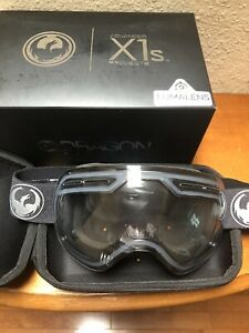 Dragon X1S Snowboard Goggles - Echo/Lumalens Photochromic Clear