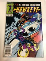 Hawkeye (1983) # 2 Canadian Price Variant (VF) ! He Kicked Shield's Butt !