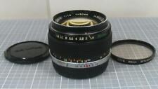 Olympus.Zuiko Auto-S 50mm F1.4 Fast Prime Manual Focus Lens