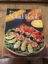 SUNSET Salad Book softcover cook recipe book 1973