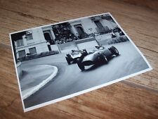 Photo  / Photograph Phil Hill FERRARI & McLaren COOPER Monaco 1960  //