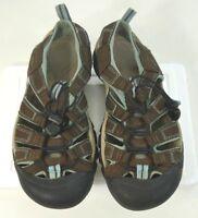 Keen Womens Waterproof Brown/Blue Outdoor Sport Sandals Camo Soles Size 7