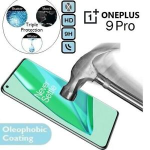 100%Genuine Tempered Glass Screen Protector(Flat)One Plus 9Pro For OnePlus 9 Pro