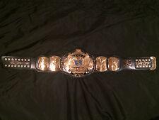 HULK HOGAN RIC FLAIR WINGED EAGLE CHAMPIONSHIP BELT AUTOGRAPHED WWF WWE