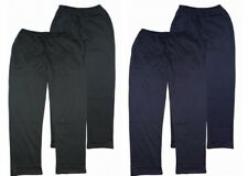 2XL to 6XL Espionage Loose Hem Jogging Bottom Trousers Black or Navy XLS
