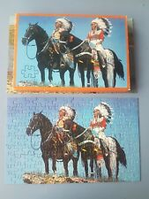 Puzzle double : Indiens ou Cow-Boys : 2 x 126 pièces Ravensburger