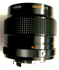 Kiron 28mm f2 Wide Angle Manual Focus Lens for Konica FT-1, FP-1, TC-X Camera