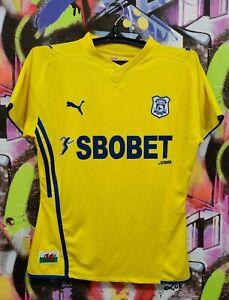 Cardiff City FC Bluebirds Football Shirt Soccer Jersey Training Top Womens M