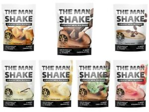 The Man Shake 840g Healthy Meal Replacement Weight Loss Shake Management Food