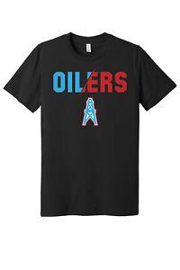 Houston Oilers Slash logo shirt  S - 5XL!!! Fast Ship!