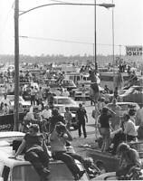 Daytona International Speedway Infield 1970 OLD RACING PHOTO