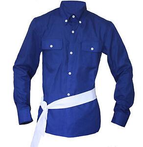 MJ Michael Jackson The Way You Make Me Feel Blue Shirt & Belt for Show
