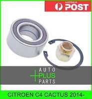 Fits CITROEN C4 CACTUS 2014- - Front Wheel Bearing 37x72x33