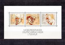 ALLEMAGNE Germany Bloc Feuillet Yvert N° 15 Neuf XX luxe Nobel littérature
