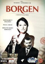 4 DVD TV-Serie aus Dänemark DÄNISCH: BORGEN, Staffel Season 1, ENGLISH SUBTITLES
