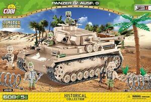 Cobi 2545 - WWII - Panzer IV Ausf.G - Limitierte Auflage - Neu