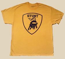 STUNT BULLS Gold Chicago Lamborghini Crest Logo Tee Shirt Men's Stussy Supreme