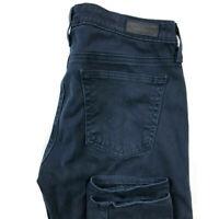 AG Adriano Goldschmied Womens 26 The Legging Super Skinny Jeans Dark Wash