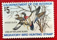 1974 Us Federal Duck Stamps Sc#Rw41 Mnh/Og Cv:$18