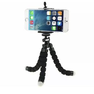 "Mini Octopus Tripod Stand Mobile Phone Holder Mount Camera Gorilla Pod up to 6"""