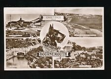 Dogs SCOTTISH TERRIER Hants Bournemouth 1951 M/view RP PPC