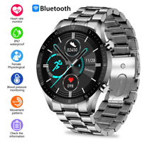 DT92 Men Smart Watch Blood Oxygen Heart Rate Monitor Phone Mate For IOS. Android