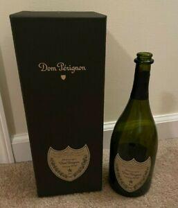 Dom Perignon Vintage 2010 - Box, Empty Bottle - Champagne - Brut - Opened
