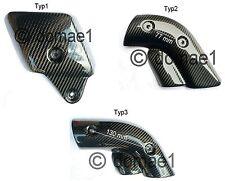 Ducati 748 916 996 998 carbon Hitzeschutz Auspuff Verkleidung Abdeckung Blende