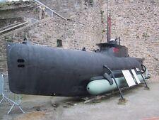U - BOOT TYPE XXVII (Typ 127) SEEHUND. M 1:10. Bauplan