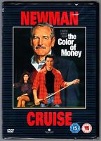 The COLOR OF MONEY DVD (1987)  TOM CRUISE  PAUL NEWMAN  REGION 4 New & Sealed