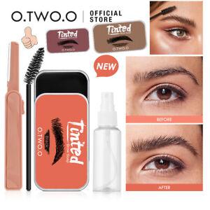 Eyebrow Soap Kit Long Lasting Waterproof 3D Brows Styling Soap Makeup Balm Gel ~