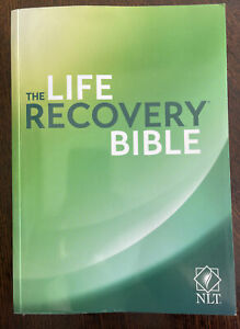 The Life Recovery Bible New Living Translation (NLT) Used With 12 Step  Plan