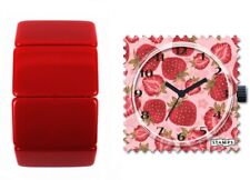 S.T.A.M.P.S. Uhr STAMPS SWEET FRUIT + Armband BELTA CLASSIC RED