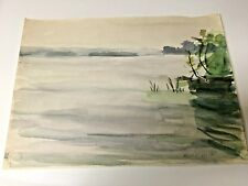 WATERCOLOR PAINTING , Signed ALMA HELD #1