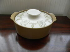 """J & G MEAKIN ' MAIDSTONE ' 9"""" COVERED VEGETABLE DISH"""