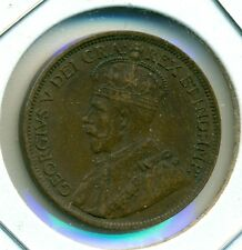 1918 CANADA LARGE CENT, EXTRA FINE, GREAT PRICE!