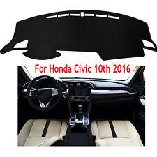 For Honda Civic 10th 2016-2017 DashMat Dashboard Cover Dash Board Cover Mat