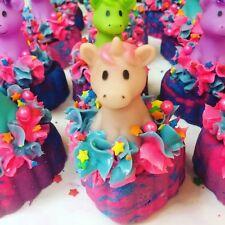 Unicorn Bubble Bath Bar - Soap Topping Lush Type - Unicorn Toy -goats Milk Soap