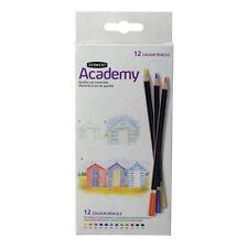 Lápices de Color Derwent Academy - 12 Color Colorante Para Adultos-Caja de cartón