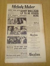 MELODY MAKER 1953 JUNE 13 FRANK SINATRA DEAN MARTIN BING CROSBY AL MARTINO