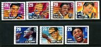 US #2731-2737, Legends of American Music Complete Used Set of 7 Stamps