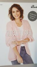 Panda Pattern Leaflet #603 Slouchy Cardi to Knit in Soft Cotton Chunky