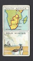 CADBURY - BRITISH COLONIES, MAPS & INDUSTRIES - #2 SOUTH AFRICA, GOLD MINING