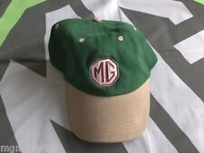 MGTF MG TF MG logo Baseball Cap Green Brand New mgmanialtd.com