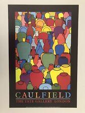 PATRICK CAULFIELD,'POTTERY,1969', AUTHENTIC 1986 TATE GALLERY PRINT