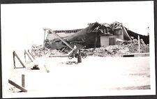VINTAGE 1933 COMPTON LONG BEACH CALIFORNIA EARTHQUAKE OLD MOTORCYCLE BIKE PHOTO